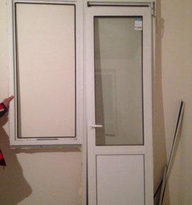 Балконный блок ( стеклопакет)