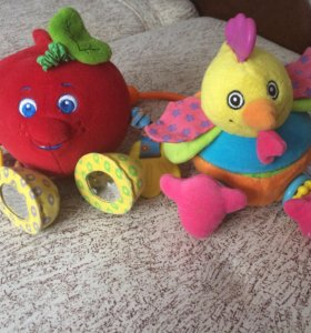 Развивающие игрушки- погремушки