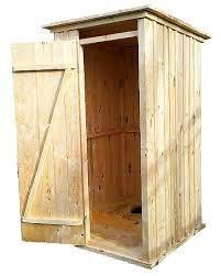 Туалет для дачи , деревянный