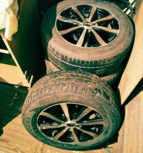 Комплект летних колёс r16 4*114.3