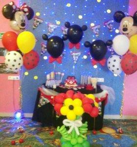 Игровая комната для детского праздника