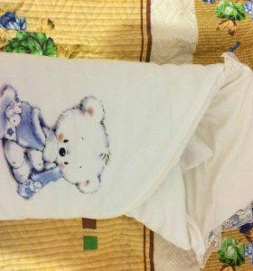Зимний конверт одеяло