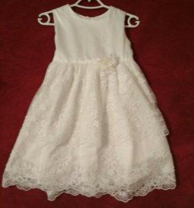 Платье для девочки 86р-р