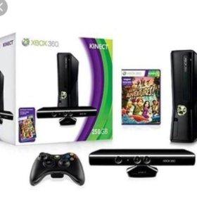 Игровая приставка Xbox 360+kinekt