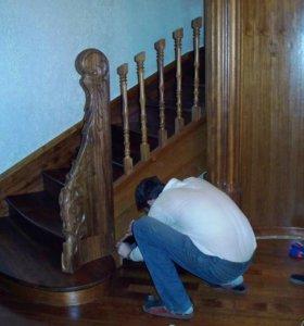 реставрация и ремонт изделий из дерева