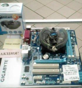 Intel i7-2600 (8x3.8)+Mb GA h61+zalman (Новый)