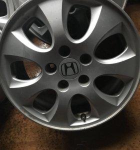 Литые диски Хонда ,оригинал