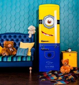 Дизайнерский холодильник Gorenje Minion