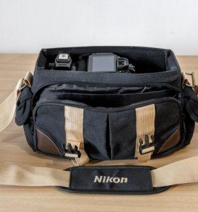 Фотосумка с логотипом Nikon