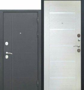 Входная дверь 10см полотно  3 контура