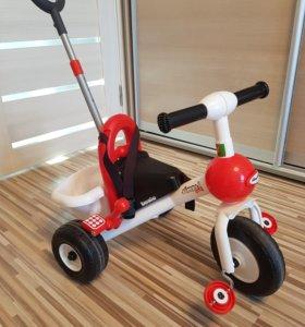 Велосипед трехколесный Полесье Базик
