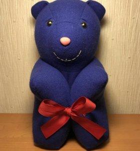 Подарок игрушка медведь, интерьерный.