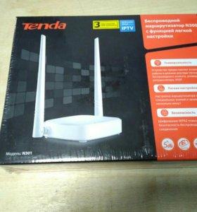 Беспроводной маршрутизатор Wi-Fi Tenda N301