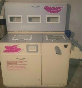 Продам машина чистки и дезинфекции пера..или обмен