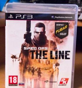 Spec Ops THE LINE (Игра на PS3)