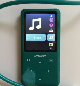 MP3 Плеер 8 Гигабайт Digma S2