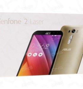 Смартфон asus Zenfone 2 Laser ZE601KL 32Gb,золотой