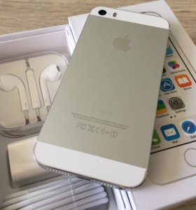 iPhone 5s Silver 16Gb c Touch ID