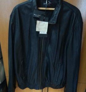 Куртка мужская кожаная размера 60