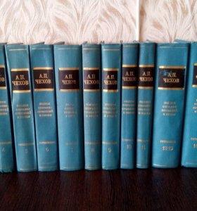 А.П.Чехов полное собрание сочинений в 18 томах.
