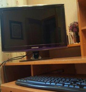Монитор Samsung 20 дюймов Full hd DVI