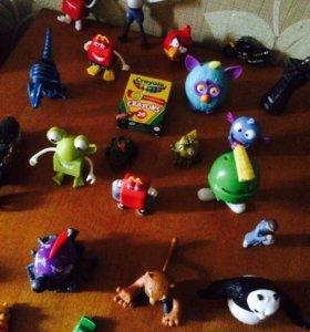 Игрушки из МcDonald's