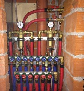 Монтаж сантехники отопления водопровода электрики