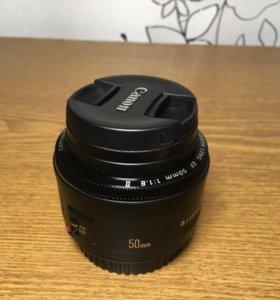 Оптика canon 50mm