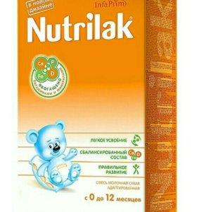 Детская смесь Nutrilak Нутрилак 0-12