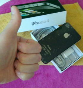 Iphone 4 новый черный