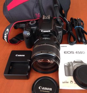 Canon D450, 17-85 mm