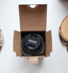 Широкоугольный YongNuo AF 35mm f/2 Canon EF