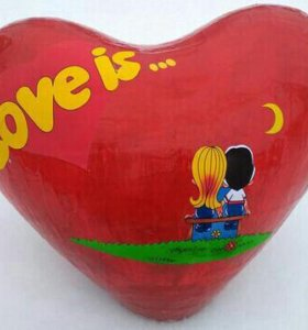Сердце на подарок