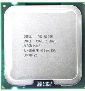 intel core 2 quad q6600 2.4ггц 775Сокет