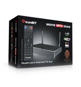 Android TVbox-iconBIT Movie IPTV Quad