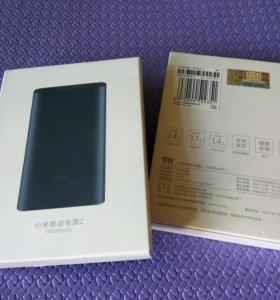 Xiaomi Mi Power Bank 2 10000, новый, оригинал