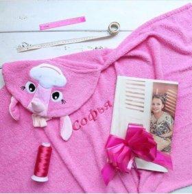 Детские полотенца с именем
