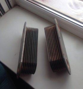 Теплообменник на МАЗ 238-1013650. 2шт