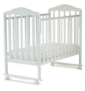 Детская кроватка,матрас, бортики