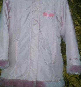 Курточка на 6-8лет