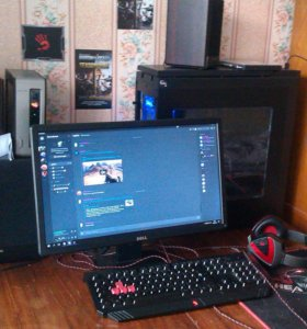 Компьютер и аудиосистема