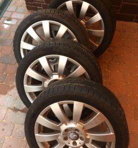 Колёса родные от Mercedes-Benz GLK 220 (R19)