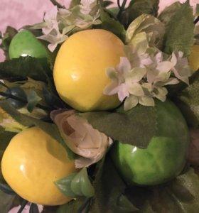 Фруктово-цветочный топиарий