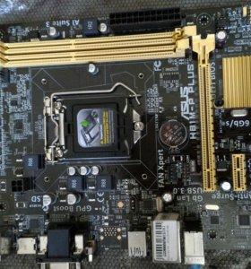Материнская плата H81M-P PLUS LGA1150