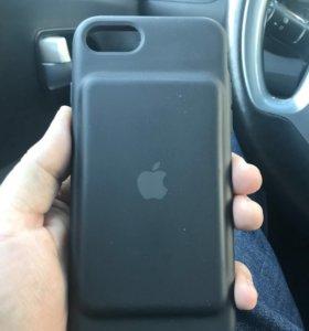 Чехол аккумулятор Apple Smart Battery Case на 7