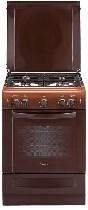 Газовая плита Гефест 6100-01К коричневая