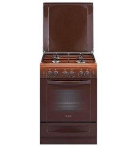 Газовая плита Гефест 6100-02 Т2К коричневая