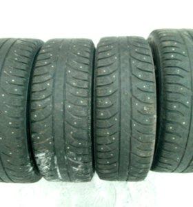 Продам комплект зимних колёс 195*60*15
