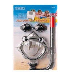 Водолазная маска, очки и трубка
