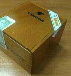 Продаю коробку для Куинских Сигар Cohiba Robustos